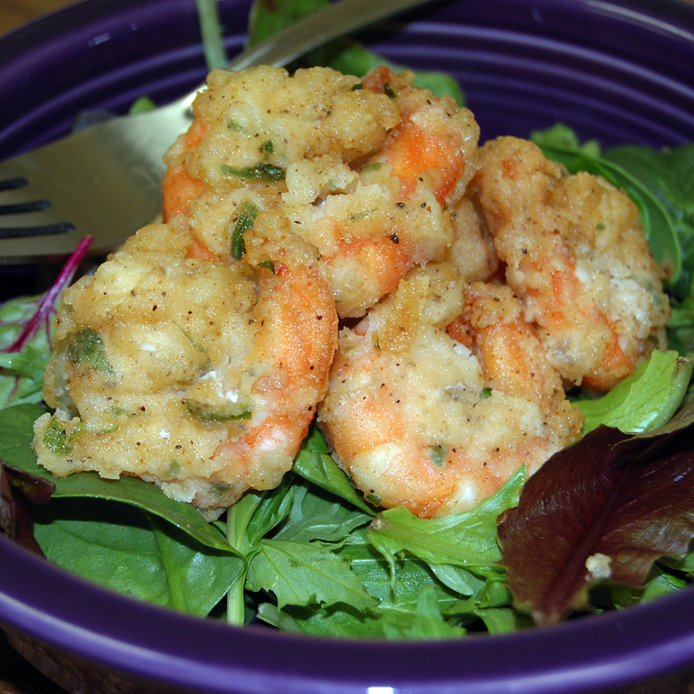 Fried Key Lime Shrimp